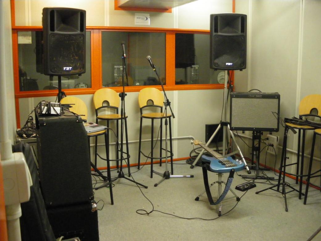 Sala prove/registrazione - batteria