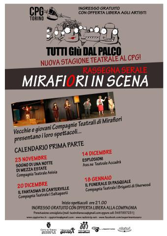 Rassegna teatrale Mirafiori in scena