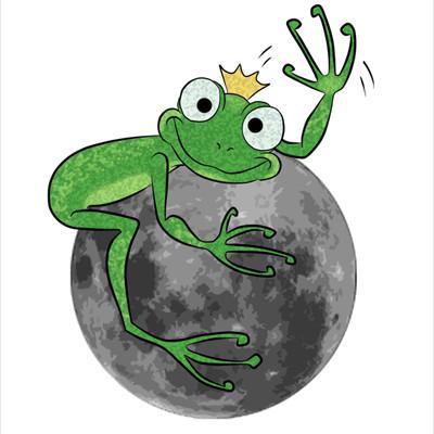 La rana sulla luna small